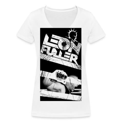 Leon Fuller fanshirt - Women's Organic V-Neck T-Shirt by Stanley & Stella