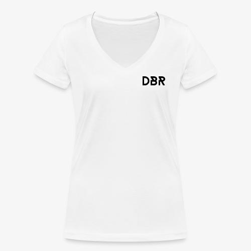 DBR Schriftzug png - Frauen Bio-T-Shirt mit V-Ausschnitt von Stanley & Stella