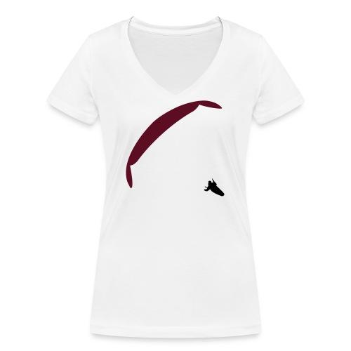 paragliding XC - T-shirt bio col V Stanley & Stella Femme