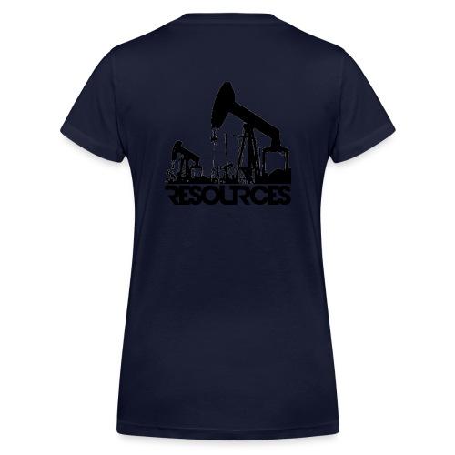 App Icon randlos schwarz - Frauen Bio-T-Shirt mit V-Ausschnitt von Stanley & Stella