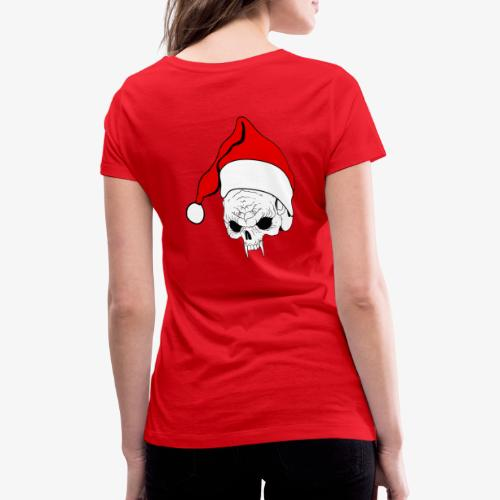 pnlogo joulu - Women's Organic V-Neck T-Shirt by Stanley & Stella