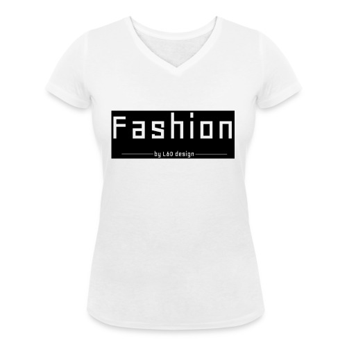 fashion kombo - Vrouwen bio T-shirt met V-hals van Stanley & Stella