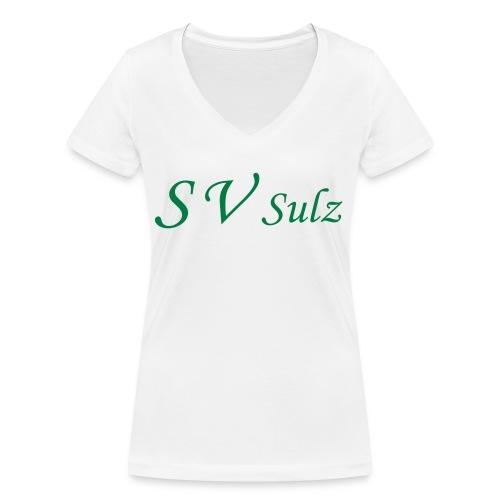 svs schrift 2 - Frauen Bio-T-Shirt mit V-Ausschnitt von Stanley & Stella