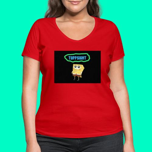 Topsight - Ekologisk T-shirt med V-ringning dam från Stanley & Stella