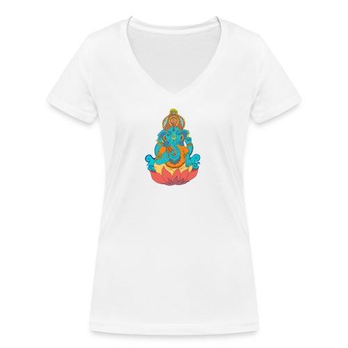 IMG_0288 2 - Ekologisk T-shirt med V-ringning dam från Stanley & Stella