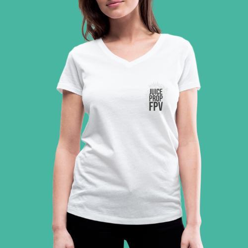 JuicePropFPV LOGO Pile Double sided - Frauen Bio-T-Shirt mit V-Ausschnitt von Stanley & Stella
