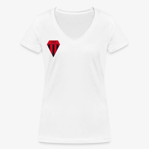 LOGO CLUB png - T-shirt bio col V Stanley & Stella Femme