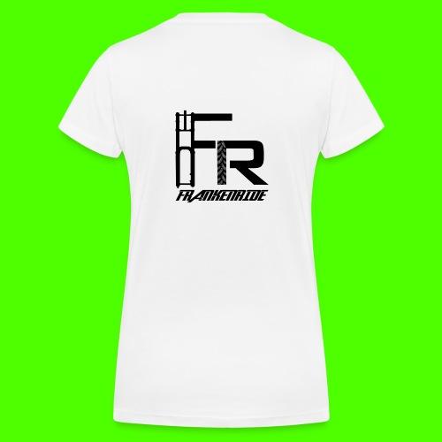 Frankenride logo 2016 - Frauen Bio-T-Shirt mit V-Ausschnitt von Stanley & Stella