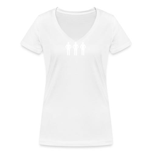 T-Shirt - Frauen Bio-T-Shirt mit V-Ausschnitt von Stanley & Stella