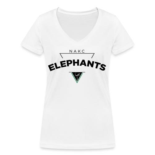 Triangle - T-shirt bio col V Stanley & Stella Femme