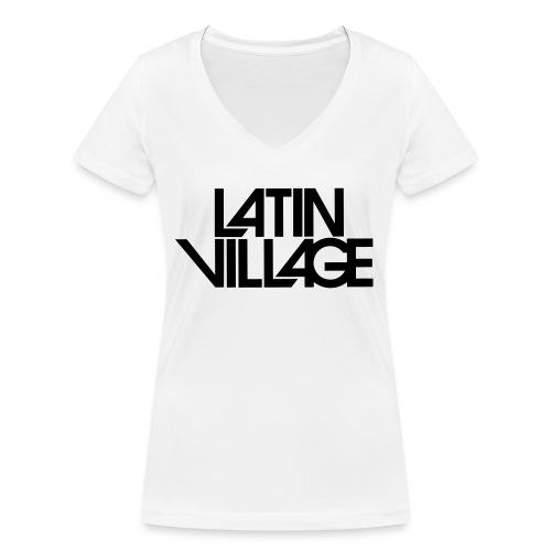 Logo Latin Village 30 - Vrouwen bio T-shirt met V-hals van Stanley & Stella