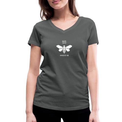 logo méthylamine - T-shirt bio col V Stanley & Stella Femme