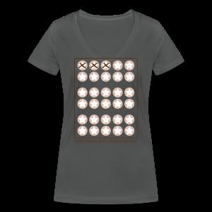 Starcard to go - Frauen Bio-T-Shirt mit V-Ausschnitt von Stanley & Stella