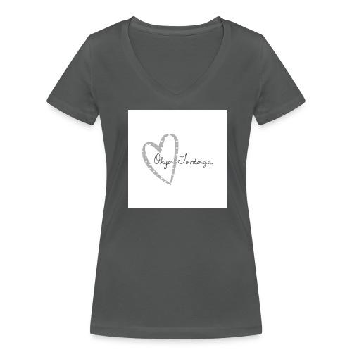 Okyo Tortoza - Women's Organic V-Neck T-Shirt by Stanley & Stella