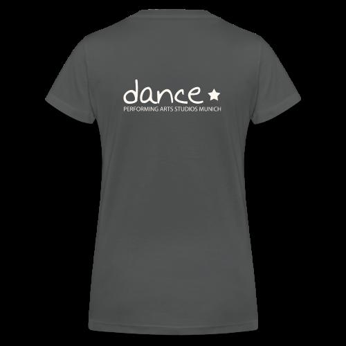 Dance *weiß* - Frauen Bio-T-Shirt mit V-Ausschnitt von Stanley & Stella