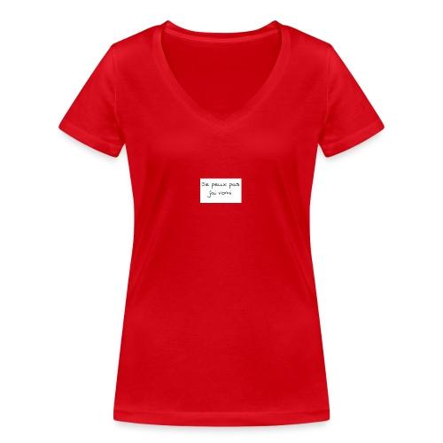jaivomi - T-shirt bio col V Stanley & Stella Femme