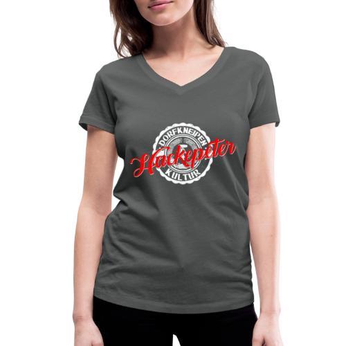 Hackepeter - Frauen Bio-T-Shirt mit V-Ausschnitt von Stanley & Stella