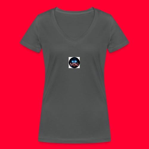 logo jpg - Women's Organic V-Neck T-Shirt by Stanley & Stella