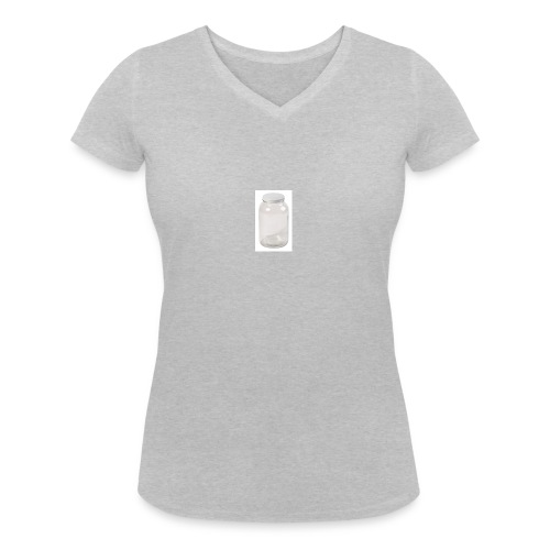 PLEASE FILL UP MY EMPTY JAR - Women's Organic V-Neck T-Shirt by Stanley & Stella