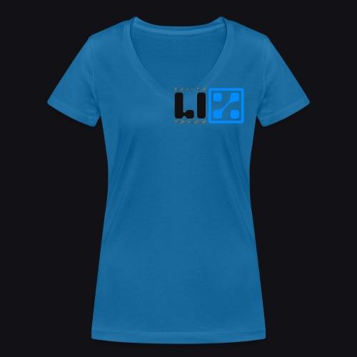 LIZ Before the Plague (Logo) - T-shirt ecologica da donna con scollo a V di Stanley & Stella