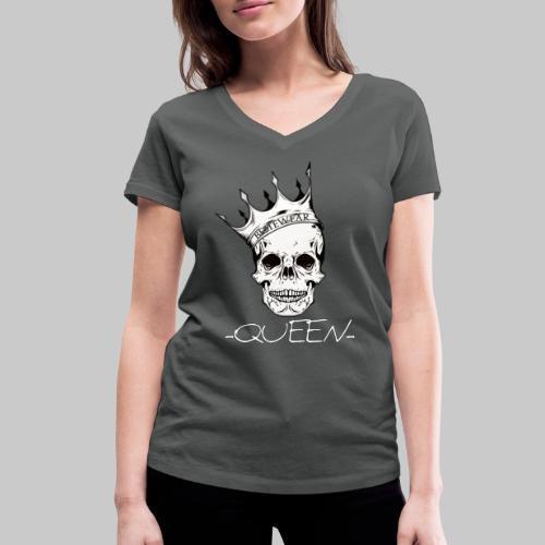 #Bestewear - Queen - Frauen Bio-T-Shirt mit V-Ausschnitt von Stanley & Stella