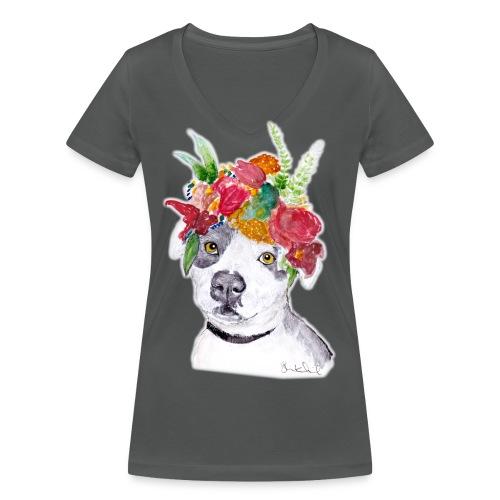 Ellie - Women's Sweatshirt - Women's Organic V-Neck T-Shirt by Stanley & Stella