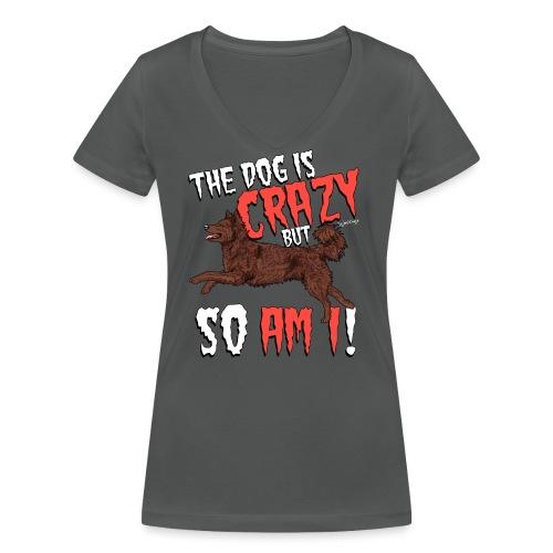 mudicrazy - Women's Organic V-Neck T-Shirt by Stanley & Stella