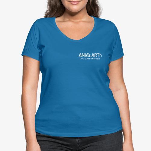 ANIA's ARTh Logo - Frauen Bio-T-Shirt mit V-Ausschnitt von Stanley & Stella