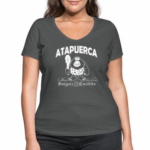 Dupi en Atapuerca - Camiseta ecológica mujer con cuello de pico de Stanley & Stella