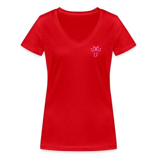 LF Crown - T-shirt ecologica da donna con scollo a V di Stanley & Stella