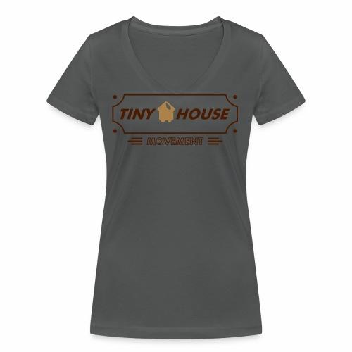 TinyHouse - Frauen Bio-T-Shirt mit V-Ausschnitt von Stanley & Stella