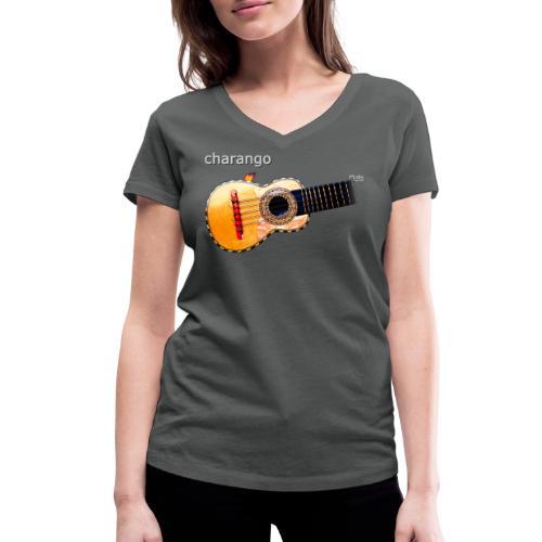 Charango - Women's Organic V-Neck T-Shirt by Stanley & Stella