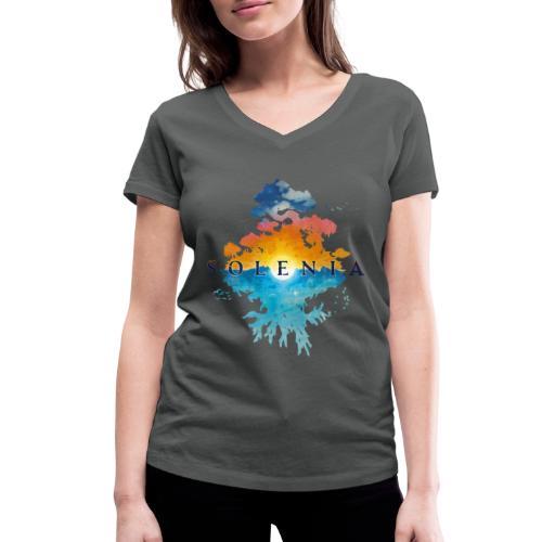 Solenia - T-shirt bio col V Stanley & Stella Femme