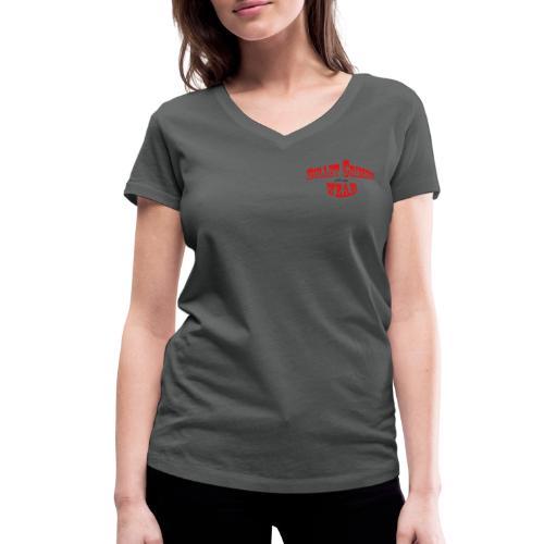 Bulletcrimeslogo2 - Camiseta ecológica mujer con cuello de pico de Stanley & Stella