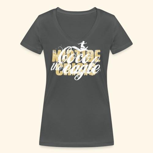 midtidecrisisCocosandweiß png - Frauen Bio-T-Shirt mit V-Ausschnitt von Stanley & Stella