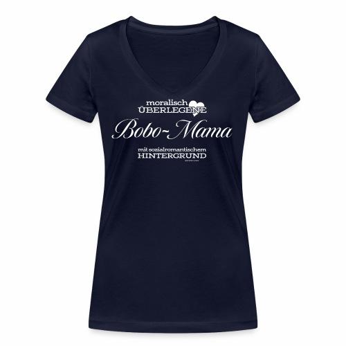 Bobo-Mama - Frauen Bio-T-Shirt mit V-Ausschnitt von Stanley & Stella