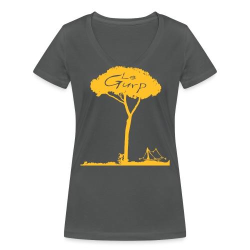 pinie2017ai2 - Frauen Bio-T-Shirt mit V-Ausschnitt von Stanley & Stella