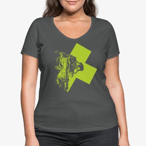 Escalando - Women's Organic V-Neck T-Shirt by Stanley & Stella
