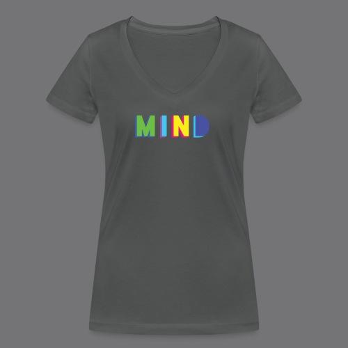 MIND Tee Shirts - Women's Organic V-Neck T-Shirt by Stanley & Stella