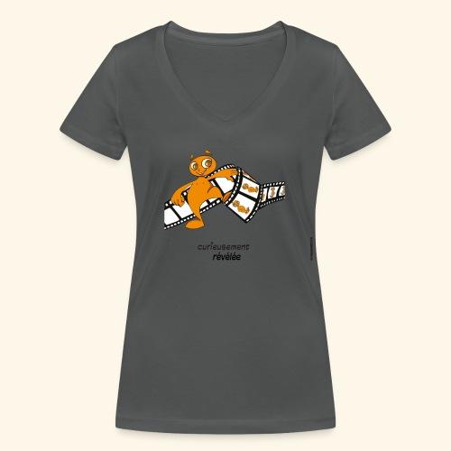 révélé femme - T-shirt bio col V Stanley & Stella Femme