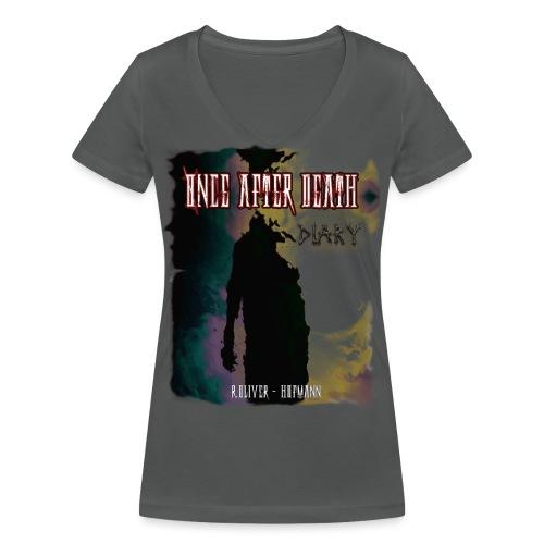 OADDIARY COVERblank png - Frauen Bio-T-Shirt mit V-Ausschnitt von Stanley & Stella
