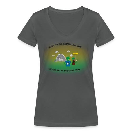 png - Frauen Bio-T-Shirt mit V-Ausschnitt von Stanley & Stella