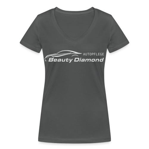 Beauty Diamond 02 png - Frauen Bio-T-Shirt mit V-Ausschnitt von Stanley & Stella