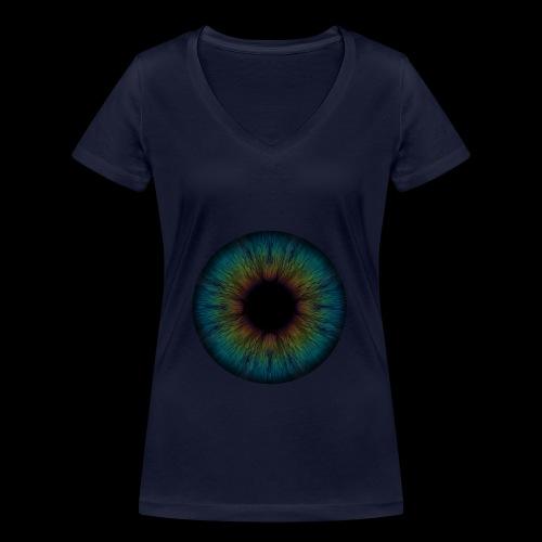Iris - Frauen Bio-T-Shirt mit V-Ausschnitt von Stanley & Stella