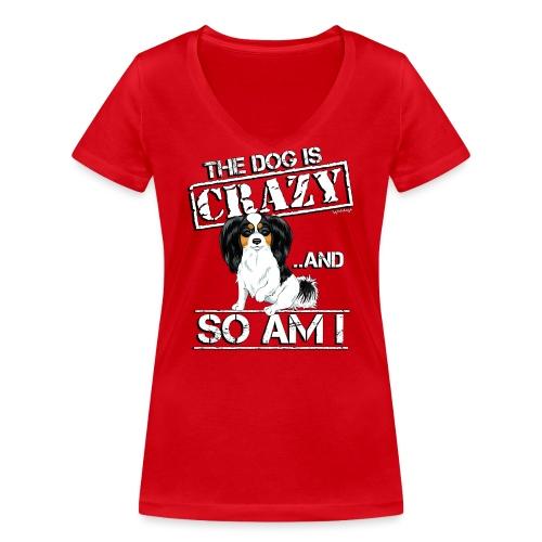 phalecrazy3 - Women's Organic V-Neck T-Shirt by Stanley & Stella