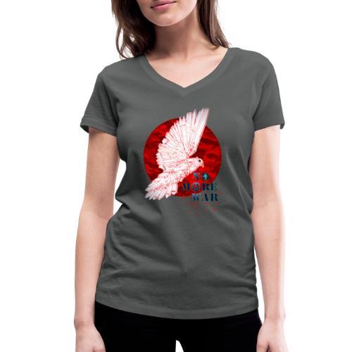 No More War Now - Frauen Bio-T-Shirt mit V-Ausschnitt von Stanley & Stella