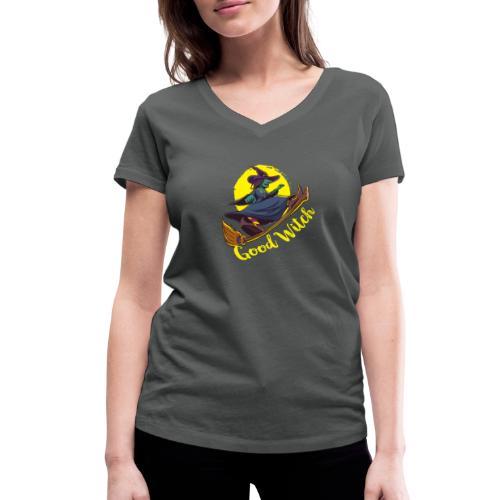 Good Witch Outfit für Hexen im Kessel brauen - Frauen Bio-T-Shirt mit V-Ausschnitt von Stanley & Stella