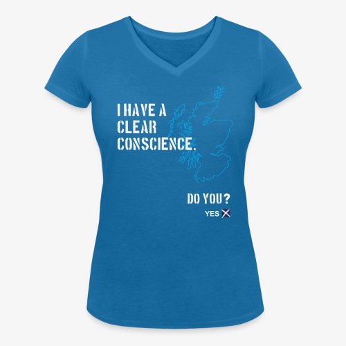 Clear Conscience - Women's Organic V-Neck T-Shirt by Stanley & Stella