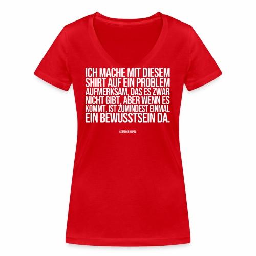 Problembewusstsein - Frauen Bio-T-Shirt mit V-Ausschnitt von Stanley & Stella