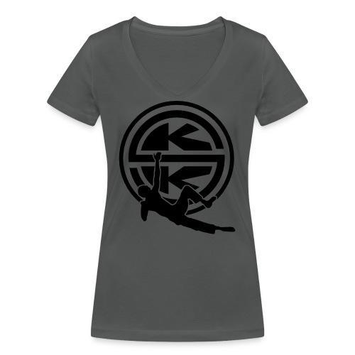 SKK_shield - Ekologisk T-shirt med V-ringning dam från Stanley & Stella
